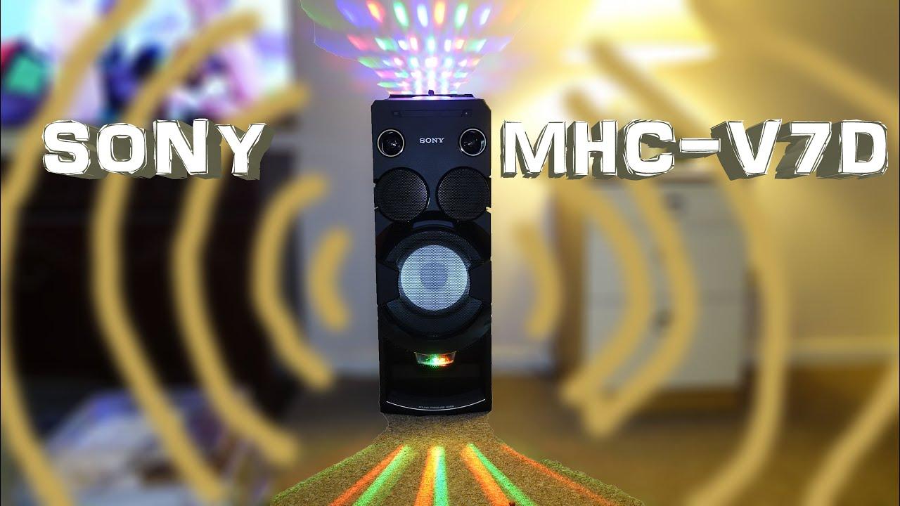 Sony Mhc V7d Unboxing 4k Youtube