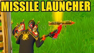Fortnite: MISSILE LAUNCHER GAMEPLAY! *NEW* GUIDED MISSILE LAUNCHER UPDATE GAMEPLAY    Fortnite!