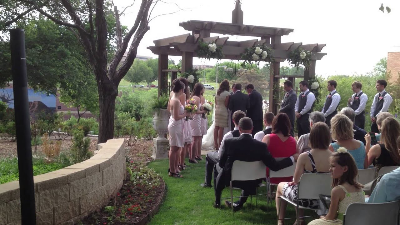 Beau Wedding At Botanical Garden. Sound Provided By All About Music. Amarillo,  Texas   YouTube