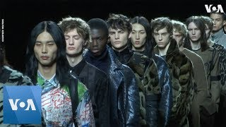 Dior Rolls Out Sashes and Suits for Men - On a Conveyor Belt thumbnail