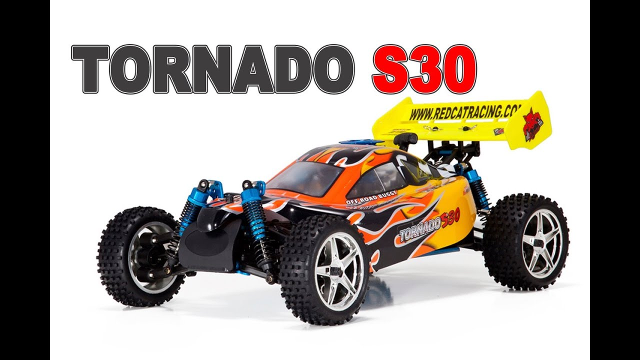 TORNADO S30 1/10th scale Nitro RC Buggy by Redcat Racing