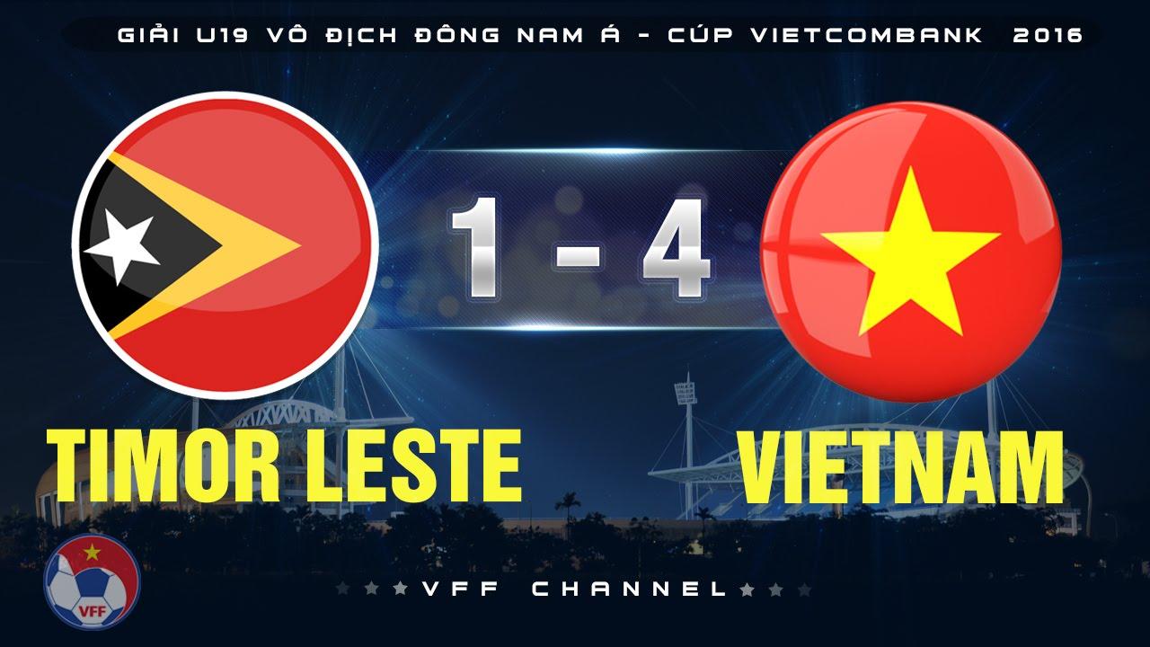 Video: U19 Đông Timo vs U19 Việt Nam
