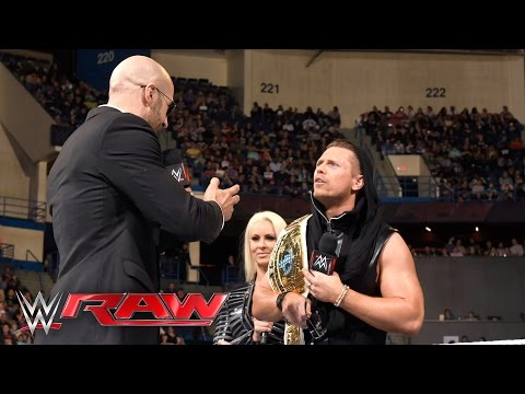 The Miz insults the Cesaro Section: Raw, April 25, 2016