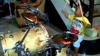 Download Timothy Brady Christian first drum rehearsal (20 months old