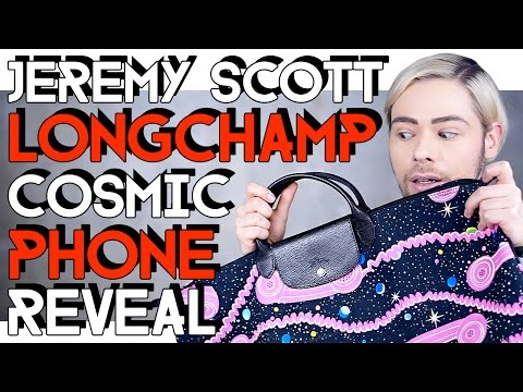 JEREMY SCOTT x LONGCHAMP COSMIC PHONE REVEAL