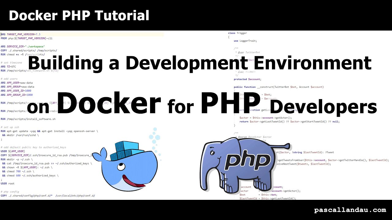 How to build a Docker development setup for PHP Projects [Tutorial