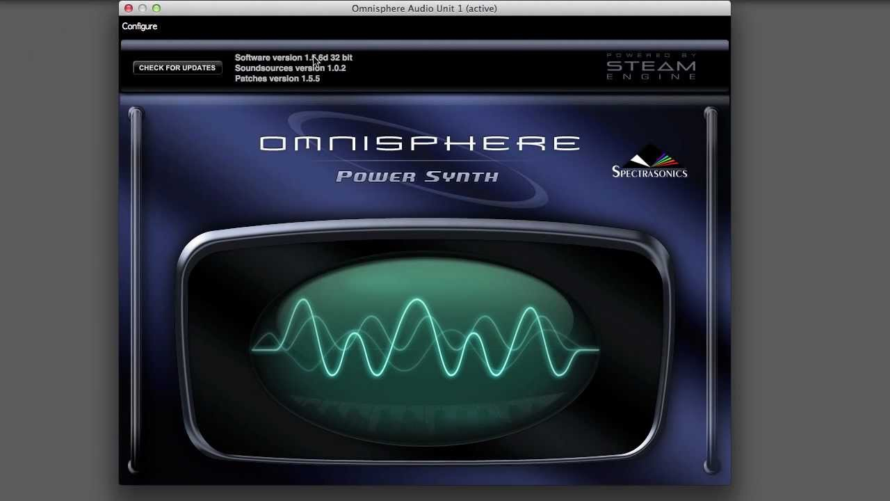 Omnisphere Multi-timbral Configuration for EigenD 2