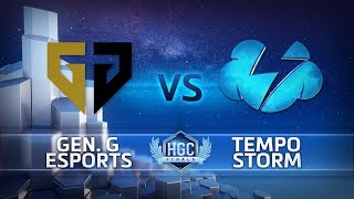 HGC Finals 2018 - Game 1 - GenG vs. Tempo Storm - Group Stage Day 1