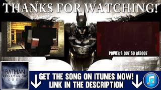 ♫ Batman Arkham Knight Song  A Hero Forms  MUSIC VIDEO   TryHardNinja feat JT Machinima