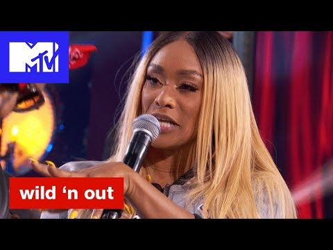 Tami Roman of 'Basketball Wives' Steps Up   Wild 'N Out   #Wildstyle