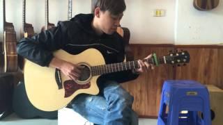 Vì em nhớ anh guitar Hoàng Quân( mèo quí tộc)