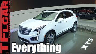 2017 Cadillac XT5: Everything You Ever Wanted to Know