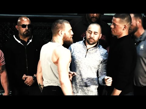 conor-mcgregor,-nate-diaz-heated-press-conference-(ufc-196)-trash-talk-galore!-review--boxingego