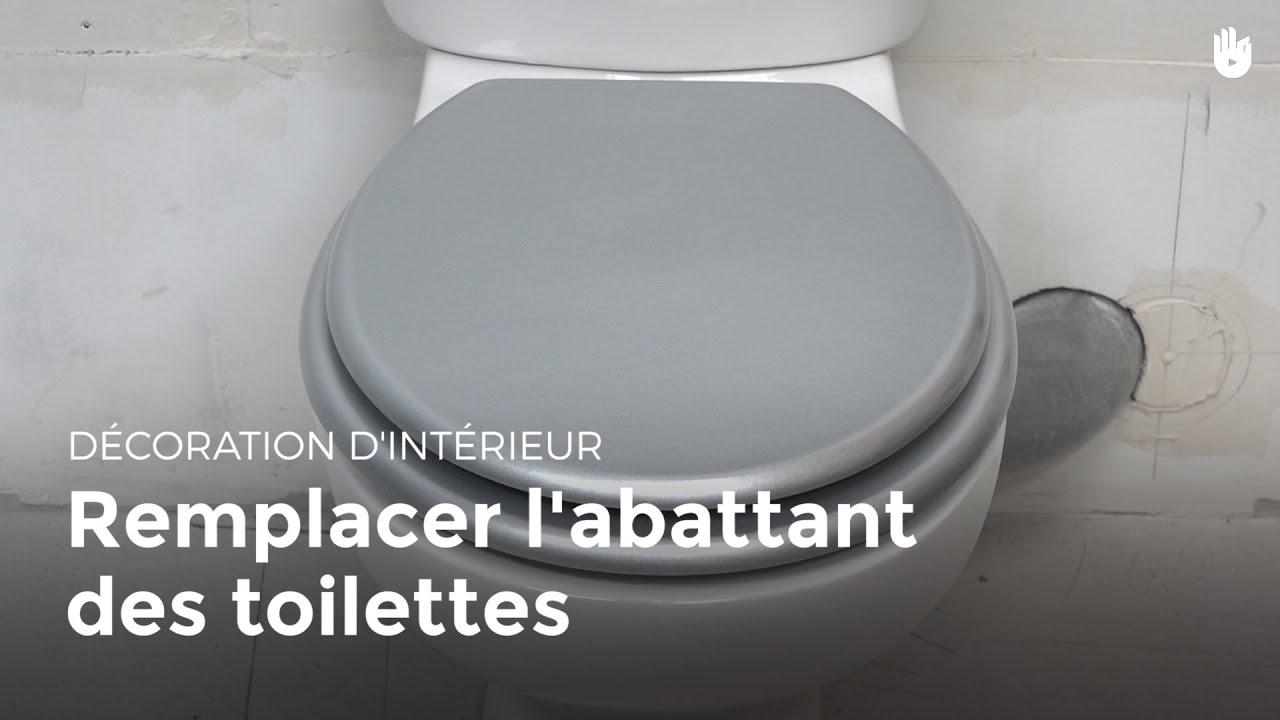 Remplacer L Abattant Des Toilettes Bricolage Youtube