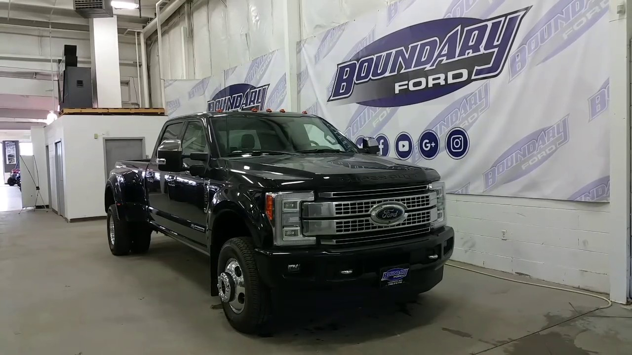 small resolution of 2017 ford f 350 superduty platinum w led lighting power running boards review boundary ford
