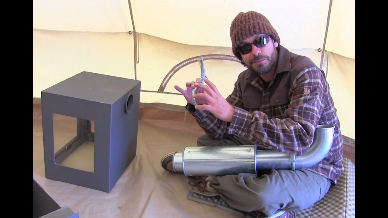 Winter Camping: Orland Wood Burning Camp Stove Gear Test ...