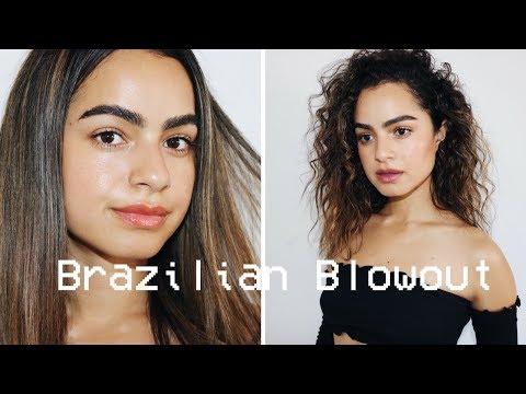 GETTING A BRAZILIAN BLOWOUT   BEAUTY VLOG