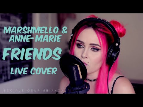 Marshmello & Anne-Marie - FRIENDS (live Cover)