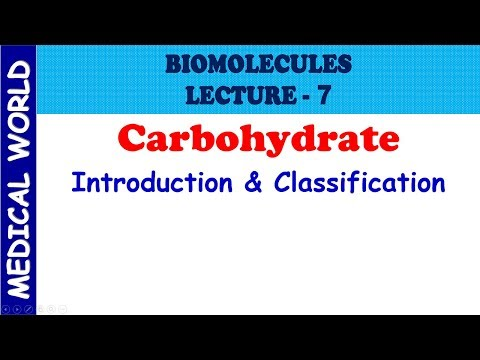 Classification of Carbohydrates Biochemistry | Chapter: Biomolecules | Part 7