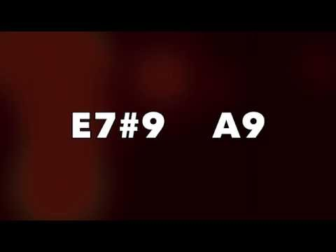 Acid Jazz Funk Backing Track (E7#9 - A9)