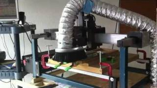My Cnc Router Setup With Dust Collection
