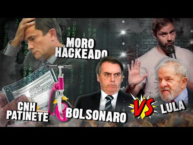 Fábio Rabin - Moro Hackeado / Bolsonaro vs Lula / CNH de Patinete