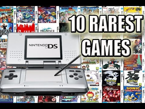 Top 10 Rarest Nintendo DS Games | Most Expensive DS Games