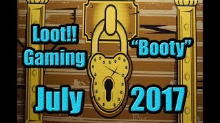 Loot Gaming July 2017 BOOTY Theme Unboxing ! Do you dare to see whats in the booty chest?