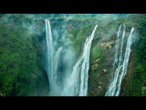 NIAGARA FALLS OF TELANGANA.. GUNDALA WATER FALLS..  ASIFABAD..  AWESOME.. EIGHTH WONDER