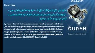 Quran by Theme Turkish   Sex Islam4Peace com