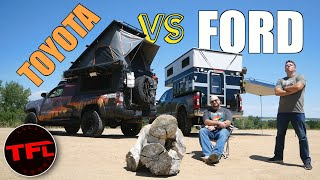 Is The Toyota Tacoma Still the Overland King? This $100K Ford F-250 Lifted Camper Says NO WAY!