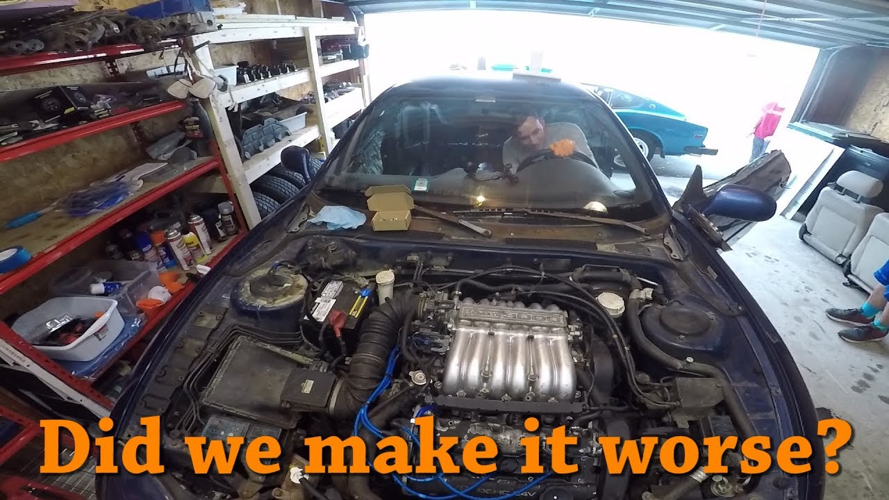 small resolution of  3000gt lemons build vacuum leak rough idle diagnosis and fix ep 6