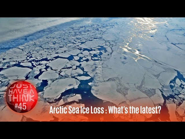 Arctic Sea Ice Loss : Whats the latest?