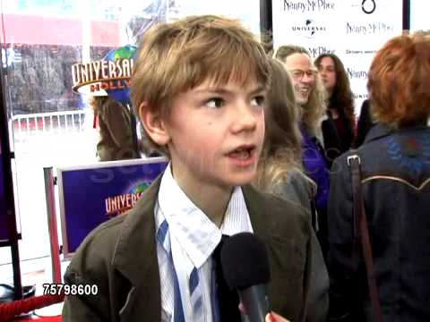 Thomas Sangster - Nanny McPhee: Interview 2