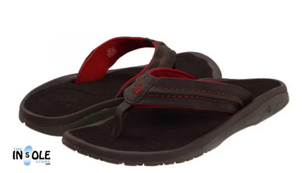 71ff6bb71067 Olukai Hokua Dark Java   Dark Java Sandals for Men  TheInsoleStore ...