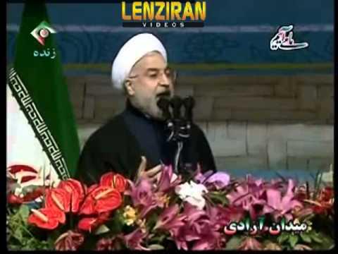Hassan Rohani speech on Monday 11 February in occasion of 22 Bahman