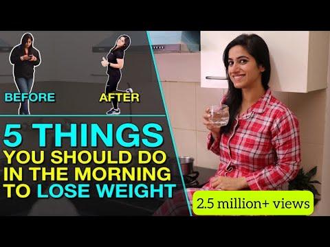 my-5-morning-habits-for-weight-loss-in-hindi- -gunjanshouts