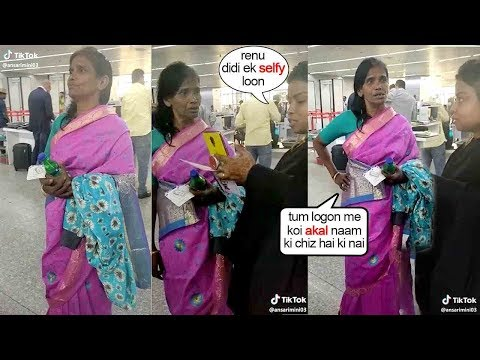 Ranu Mondal's Unbelvable SH0K!NG APPR0ACH Towards A FAN requesting For A Photo @Airport Mp3