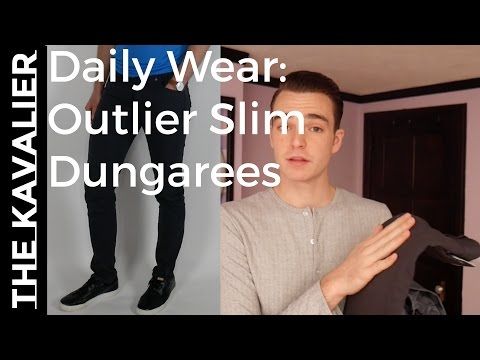 My Everyday Pants - 6mo OUTLIER Slim Dungarees Review | Ultimate Dad Pants