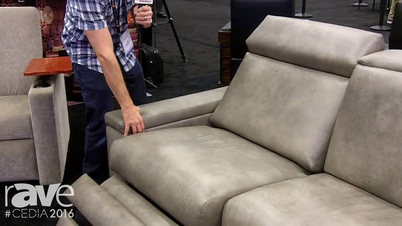 Cedia 2017 Fortress Seating Showcases Contemporary Sofa With Motorized Headrests