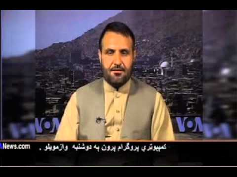 Afghanistan Election Watch on vote audit computers. VOA Ashna