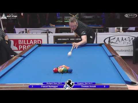 Stuttgart Open 2017, No. 12, Pascal Nydegger vs. Thomas Arnold, 10-Ball, Pool-Billard