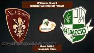 Eccellenza Girone B Foiano-Baldaccio Bruni 2-1