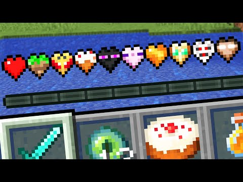 Minecraft but there are Super Hearts