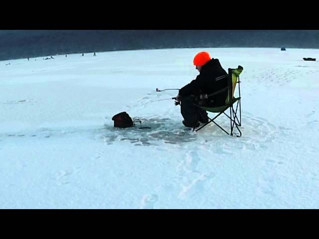 Videos joseph sayer videos trailers photos videos for Pa ice fishing
