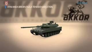Altay Tankı İçin 360 Derece Koruma Teknolojisi: AKKOR