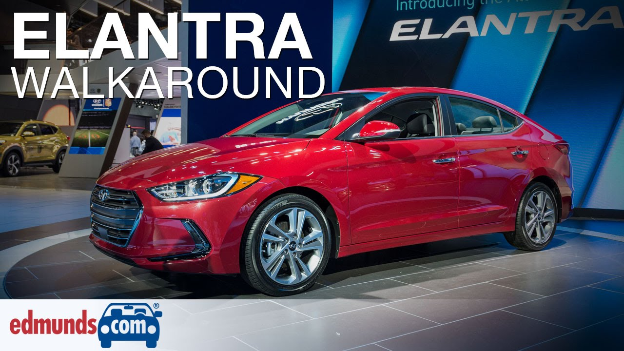 2017 Hyundai Elantra Walkaround Review Los Angeles Auto Show Youtube