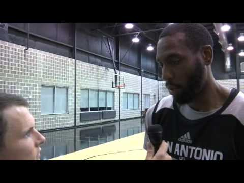 Rasual Butler talks faith, perseverance and making the Spurs roster