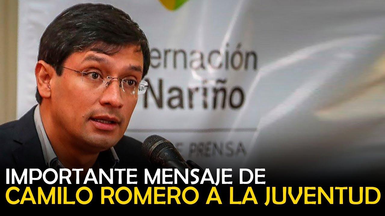 CAMILO ROMERO A LA JUVENTUD / IMPORTANTE MENSAJE
