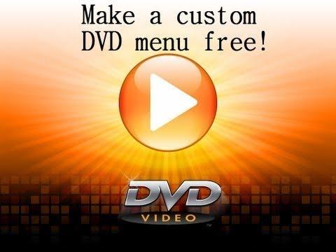 How to make a DVD menu free - Windows 7
